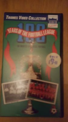 100 years of football league vhs