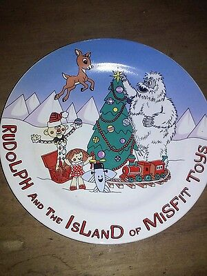 rudolph and the island of misfit toys Collectors Plate