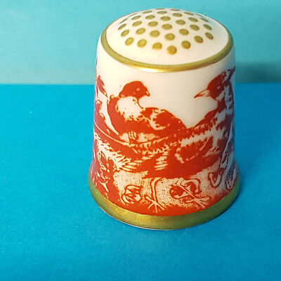Royal Crown Derby XLIX Thimble Chinese Pheasant