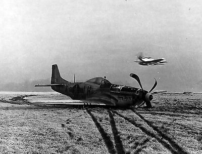 New 6 X 4 Photograph Ww2 Us P51 Mustang 2