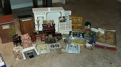 Victorian Dolls House furniture and accessories JOB LOT