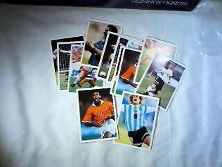 Job lot of 13 PG Tips Cards - International Soccer Stars - see pictures