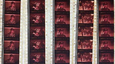 Carry On England - 5 strips of 5 35mm Film Cells