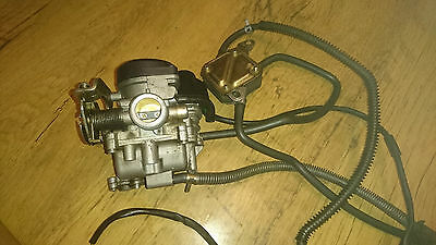 Cpi Bravo 50 2012 Chinese Scooter Carburettor Carb Fuel Tap With Auto Choke