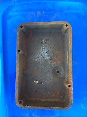 Maytag Twin Cast Iron Early Hit And Miss Gas Engine Gas Tank Original