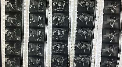 To Have and Have Not feat Humphrey Bogart  - 5 strips of 5 35mm Film Cells