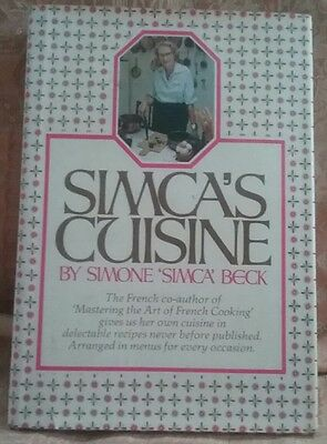 Vintage Cook Book Simca's Cuisine by Simone Beck