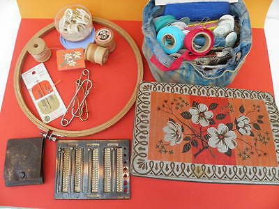 Vintage Sewing and Handcraft Accessories including  Rare Antique Items