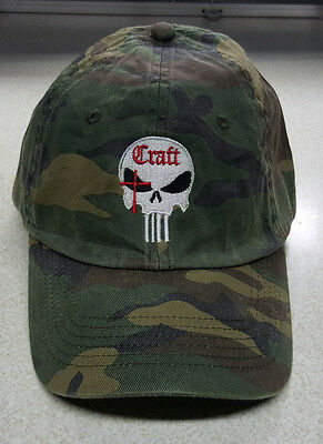 NEW Craft International Camo Punisher Skull logo 15% to Wounded Warrior Project