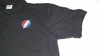 NEW Dead & Company Grateful Dead POLO SHIRT W/Embroidery Logo