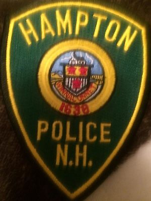 New Hampshire POLICE- Hampton  POLICE  NH Police PATCH