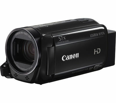 CANON LEGRIA HF R76 Full HD Traditional Camcorder Built-in WiFi & NFC Black