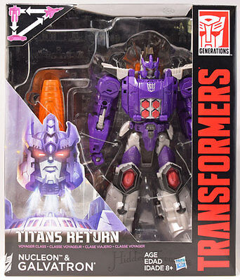 Transformers Generations Titans Return Voyager Class Nucleon & GALVATRON