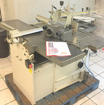 ROBLAND X-31 Machine. Planner,  Thicknesser, Bench/panel Saw, Spindle Moudler