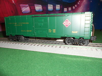Lionel 6-16237 Railway Express Agency Boxcar Built 1-92