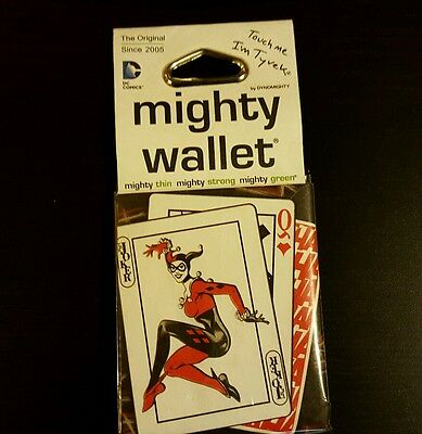 Harley Quinn Bi-Fold Mighty Wallet  *Brand New* factory seal