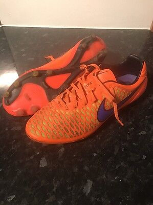 Nike Magistrate Opus, Football Boots, FG Firm Ground, Orange Size 11