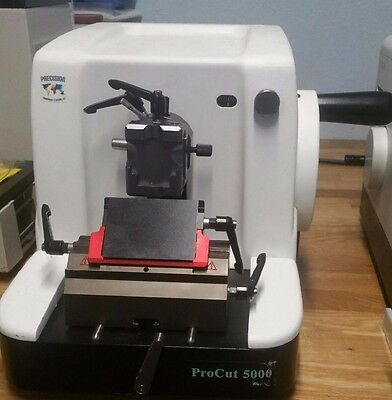 ProCut 5000 microtome, Histology Tissue Paraffin Block Cutting Machine