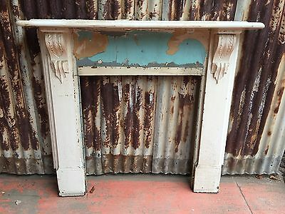 Timber Mantle Piece 1235w X 1195h Fireplace
