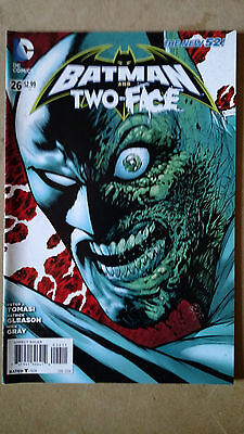 Batman And Robin (Two-Face) #26 1St Print Dc Comics (2014) The New 52