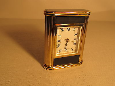 Vintage mantel-desk, quartz alarm clock (ref 560)