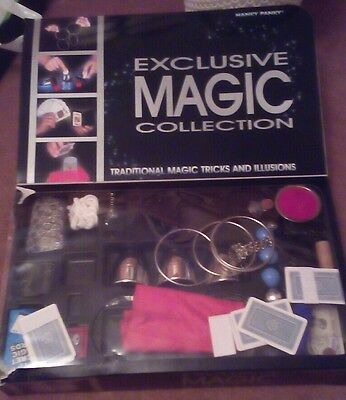 Exclusive Magic Collection Traditional Magic Tricks and Illusions Set