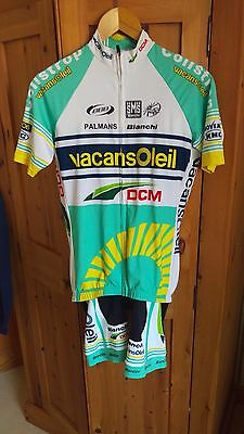 Vacansoleil 2012 Coppi Bianchi kit (Limited Edition) - Size L/XL - SMS Santini
