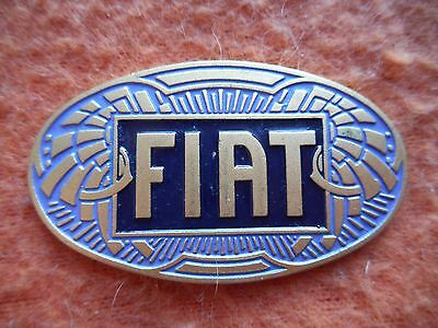 Fregio Placca Fiat Auto Logo Stemma Car Badge