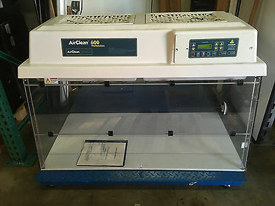 AirClean Systems AirClean 600 Workstation AC648LF Ductless PCR w/ UVTect Control
