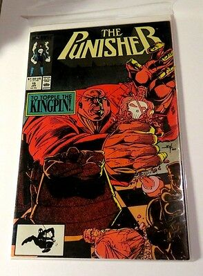 The Punisher #15 Marvel Copper Age Comic CB1400