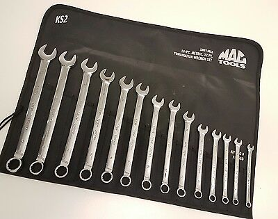 MAC Tools Spanners. 6-19mm Knuckle Saver Wrench Set. (Including VAT).