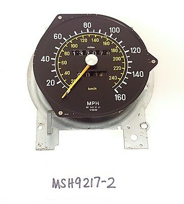 Mercedes SL SLC r107 c107 Speedo Clock Head with Odometer from Cluster