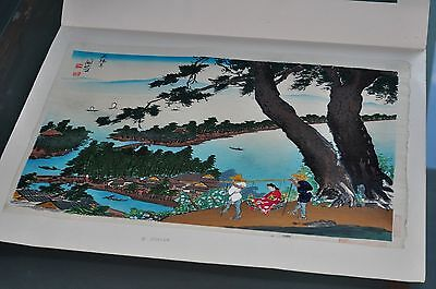 Vintage Japanese Original Woodblock Print from the 1940's