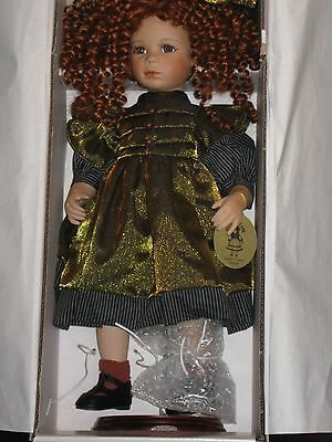 Collector Porcelain Doll. Hillview Lane ---Chloe