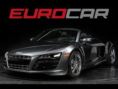 2012 Audi R8  Audi R8 V10 SPIDER, B&O SOUND, IMPECCABLE, NAVIGATION PLUS,