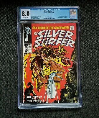 Silver surfer 3 CGC 8.0