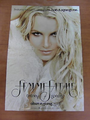 BRITNEY SPEARS - Femme Fatale 2Sided [OFFICIAL] POSTER