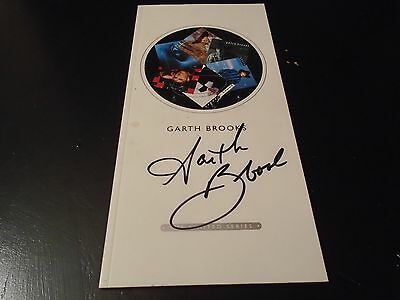 Garth Brooks Signed Cd Booklet The Limited Series Nice Look Must See W/coa!
