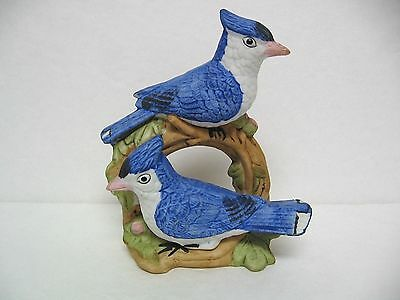 """Blue Jay Figurine Made in Taiwan 5.25"""" Tall Vintage Flambro  Excellent Condition"""