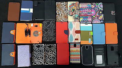 Bulk lot of 25 Samsung Galaxy Note series Covers