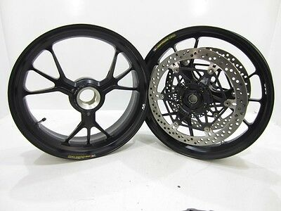 Ducati 1199 Panigale Marchesini Forged Front Rear Rim Wheel 1199S 1199R Rotor