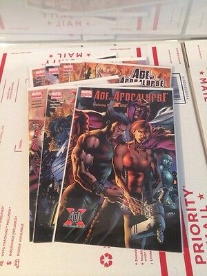 Age of Apocalypse #1-6 VF/NM Complete Series + One-Shot X-Men Marvel Comics