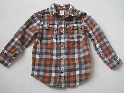 Gymboree Boys Shirt Size 5-6 Flannel Checkered