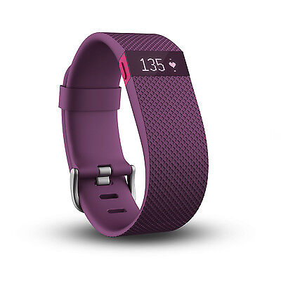 Fitbit Charge HR Wireless Activity Wristband Fitness Tracker Band Large