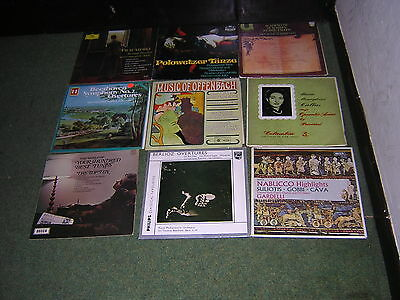 Job Lot Of 99 Classical Lp's As Photographed