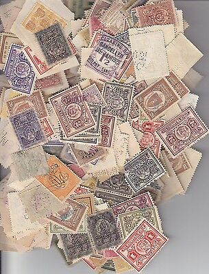 Small lot of NY, Mass, Penn, Stock Transfer Tax Stamps (S4519)