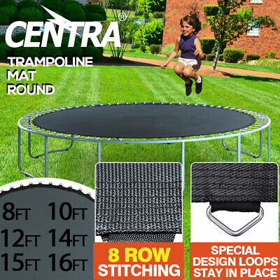 Replacement Trampoline Mat Round Outdoor Spring Spare 8/10/12/14/15/16FT