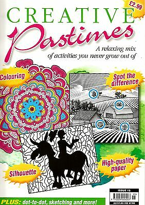 Creative Pastimes. Issue 15.  Art Therapy Book.  (Softcover)