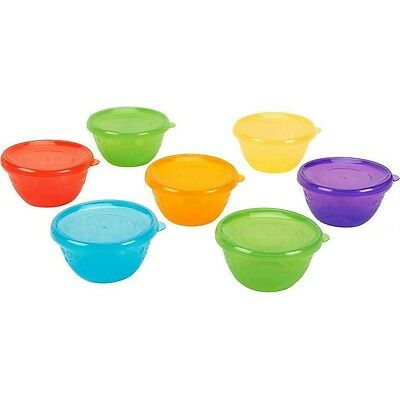 Babies R Us Bowls with Lids, Baby & Toddler Meal Bowls BPA Free - 7 Pack