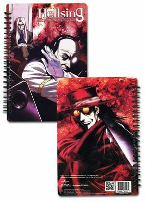 *NEW* Hellsing: Integra Walter & Alucard Notebook by GE Entertainment